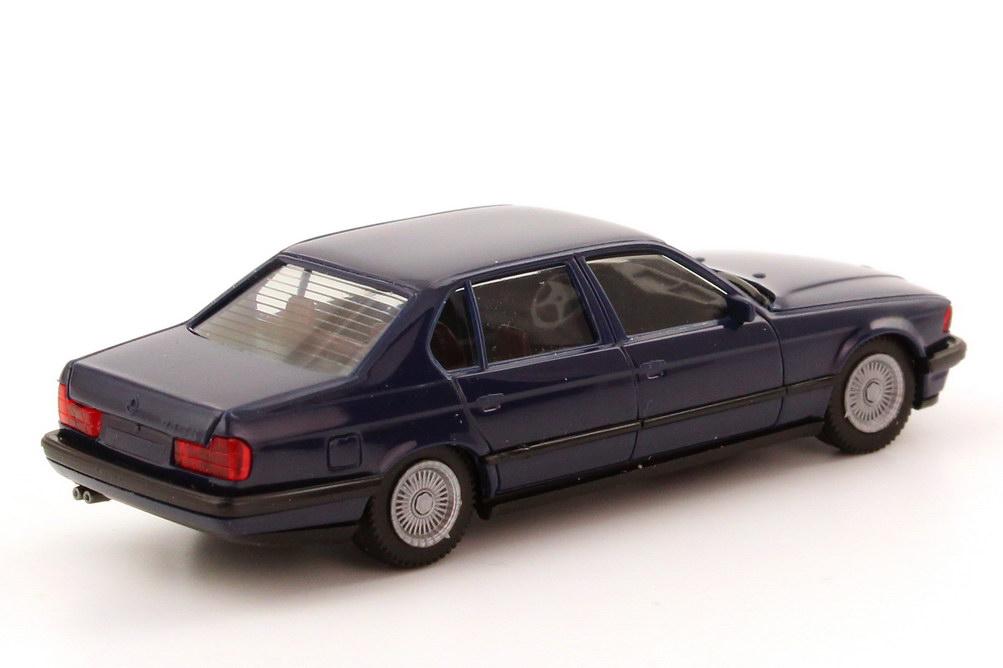 neuw.//ovp 1:87 Herpa 025430 High Tech BMW 740iL no.1 grünmetallic