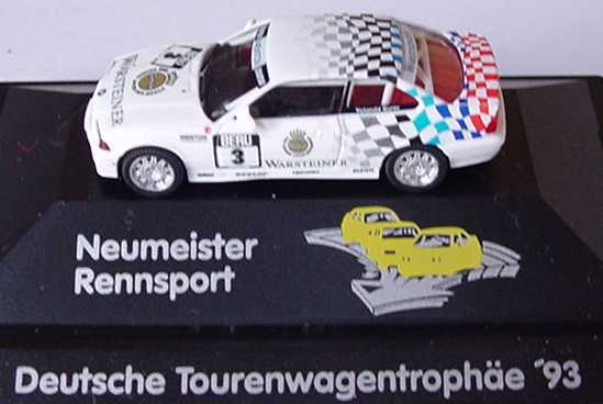 Foto 1:87 BMW M3 Coupé (E36) DTT 1993 Menton, Warsteiner Nr.3, Yolanda Surer (Neumeister Rennsport) herpa