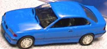 Foto 1:87 BMW M3 Coupé (E36) blau herpa 021173