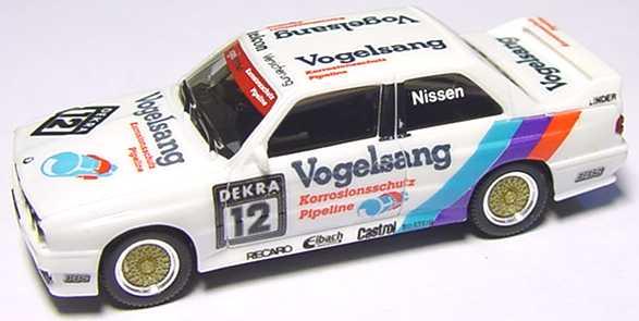 Foto 1:87 BMW M3 (E30) DTM 1990 Linder, Vogelsang Nr.12, Nissen (ohne PC-Box) herpa 3527