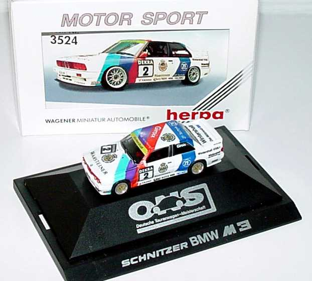 Foto 1:87 BMW M3 (E30) DTM 1990 Schnitzer Nr.2, Giroix herpa 3524
