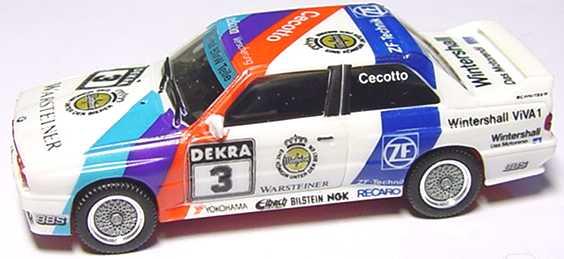 Foto 1:87 BMW M3 (E30) DTM 1990 Schnitzer Nr.3, Cecotto (ohne PC-Vitrine) herpa 3525