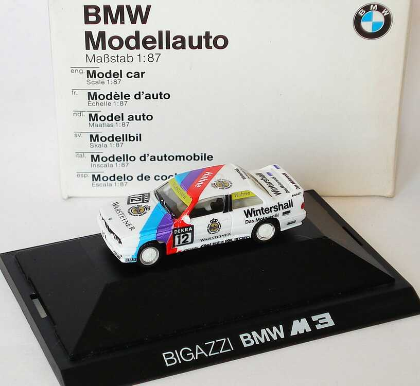 Foto 1:87 BMW M3 (E30) DTM 1991 Bigazzi Nr.12, Hahne Werbemodell herpa 82229417884