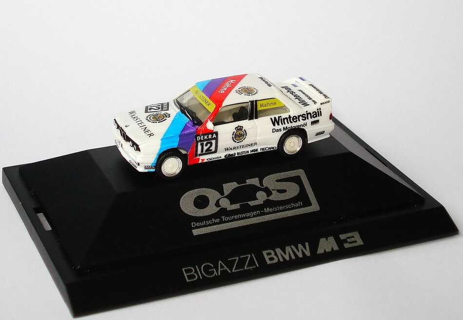 Foto 1:87 BMW M3 (E30) DTM 1991 Bigazzi Nr.12, Hahne herpa 3532