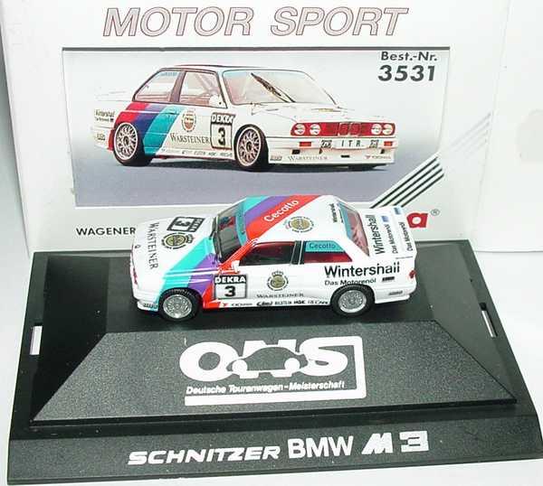 Foto 1:87 BMW M3 (E30) DTM 1991 Schnitzer Nr.3, Cecotto herpa 3531