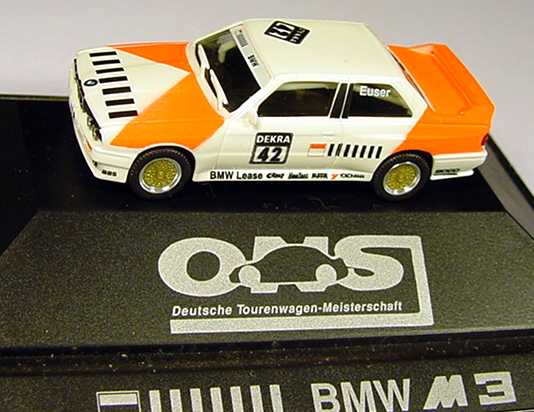 Foto 1:87 BMW M3 (E30) Marlboro (Zensiert) Nr.42, Euser herpa