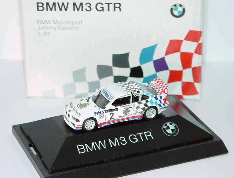 Foto 1:87 BMW M3 GTR Schnitzer, Warsteiner Nr.2 , J. Cecotto (ADAC GT Cup ´93) herpa 80419420562