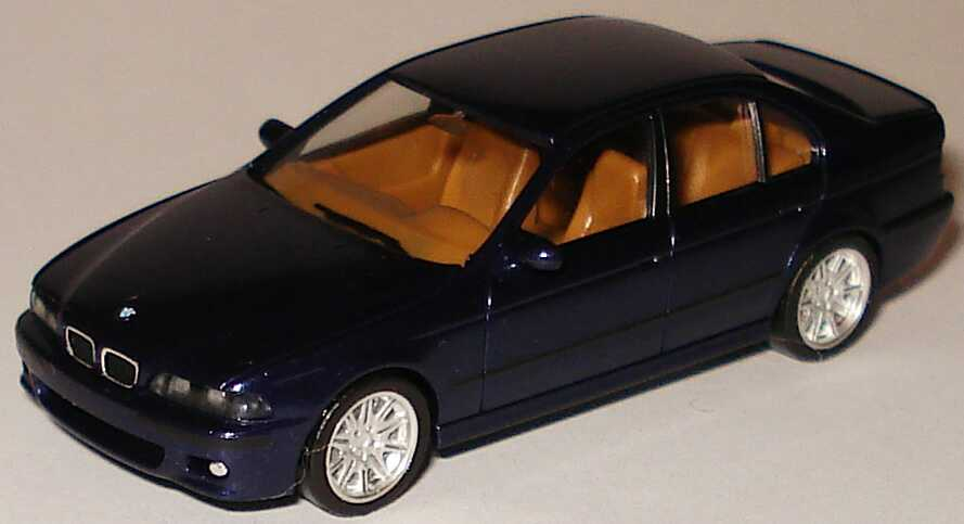 Foto 1:87 BMW M5 (E39) le-mans-blau-met. (ohne PC-Box) herpa 80419423090