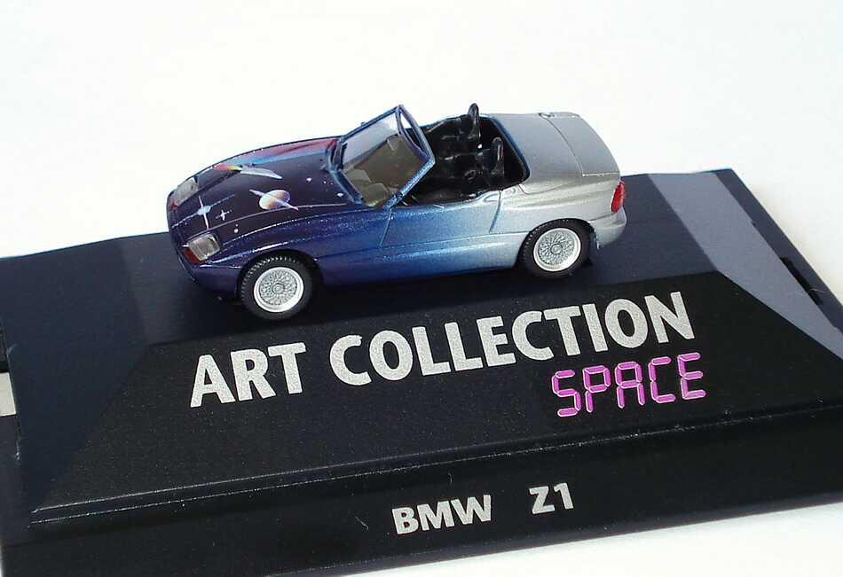 1 87 bmw z1 space art collection herpa 045018 ebay. Black Bedroom Furniture Sets. Home Design Ideas