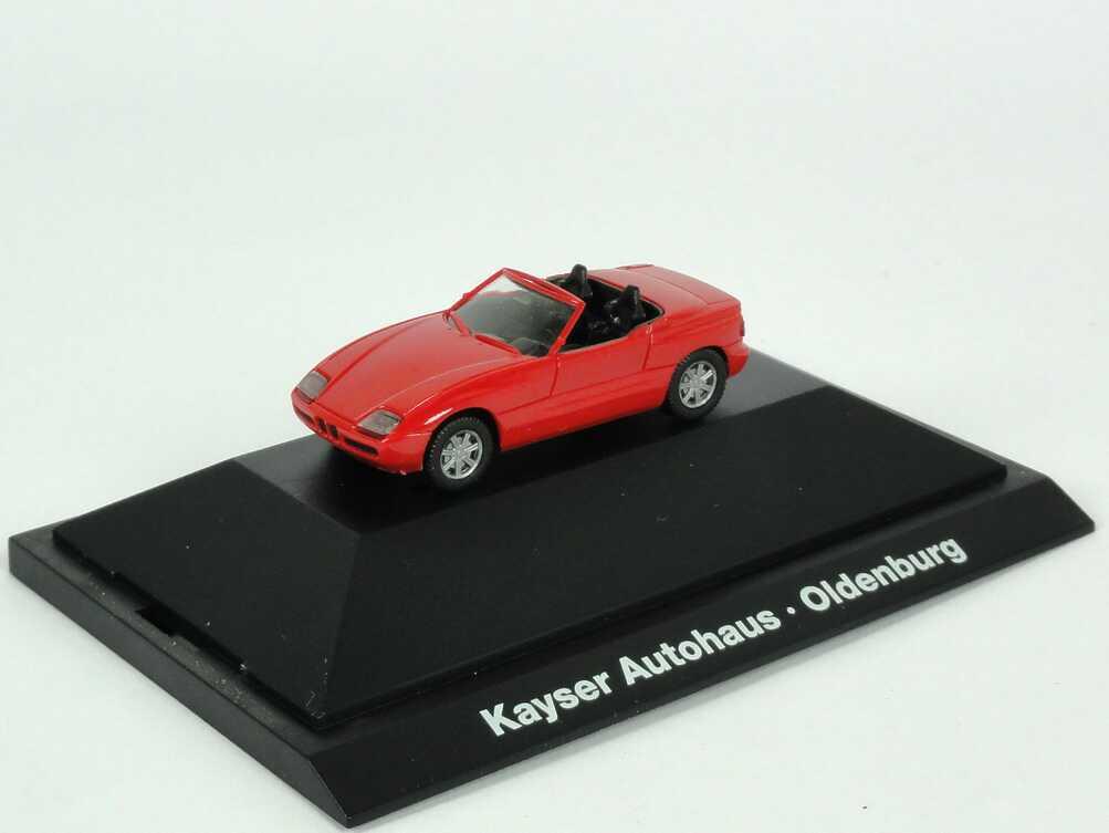 Foto 1:87 BMW Z1 rot Kayser Autohaus - Oldenburg - Werbemodell - herpa
