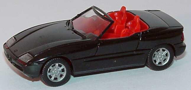 Foto 1:87 BMW Z1 schwarz IA rot - herpa 020749