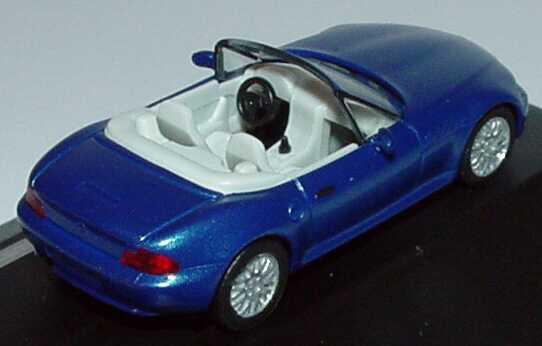Foto 1:87 BMW Z3 Facelift blau-met. 58.IAA 1999 herpa