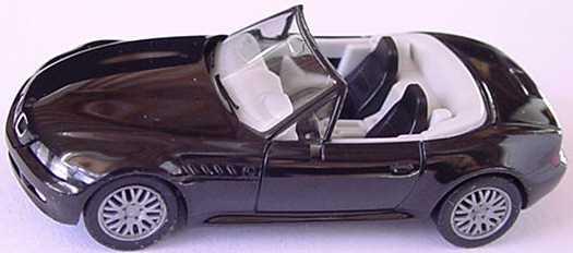 Foto 1:87 BMW Z3 Facelift schwarz (IA grauweiß) herpa 022743