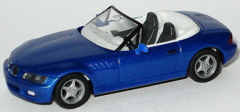 Foto 1:87 BMW Z3 blau-met. - herpa 031936
