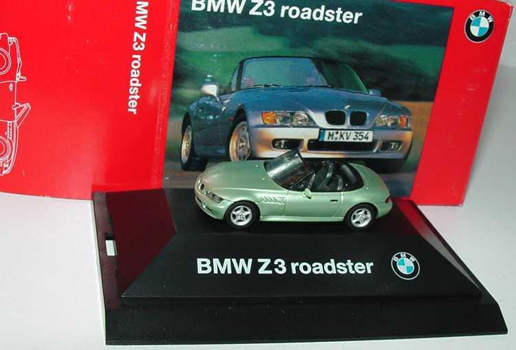 Foto 1:87 BMW Z3 hellgrün-met. Werbemodell herpa 80419421515