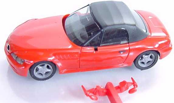 Foto 1:87 BMW Z3 rot, Softtop schwarz herpa 022507