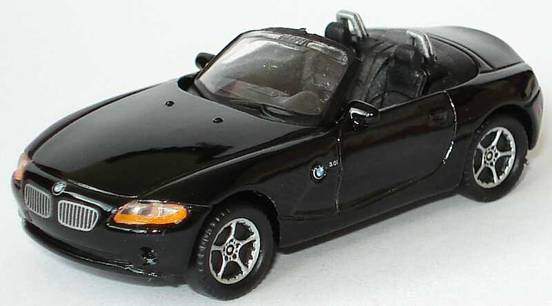 Foto 1:87 BMW Z4 schwarz Welly