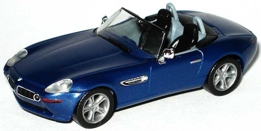 Foto 1:87 BMW Z8 blau-met. herpa 032896/147200