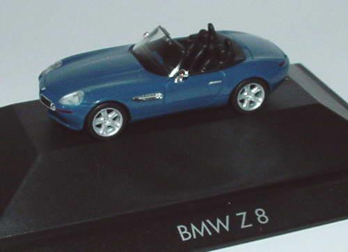 Foto 1:87 BMW Z8 dunkelgraublau herpa 101288