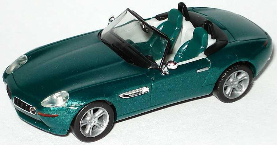 Foto 1:87 BMW Z8 grün-met. herpa 032896