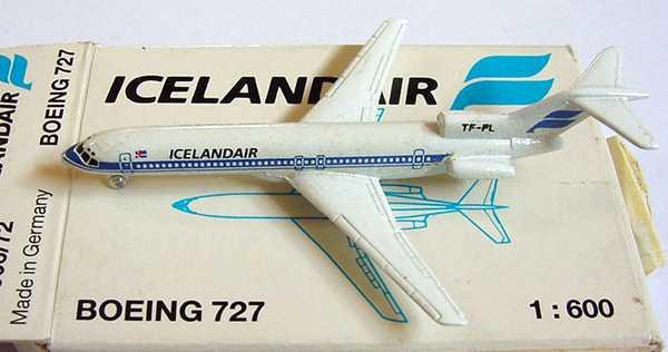Foto 1:600 Boeing B 727 Icelandair Schabak