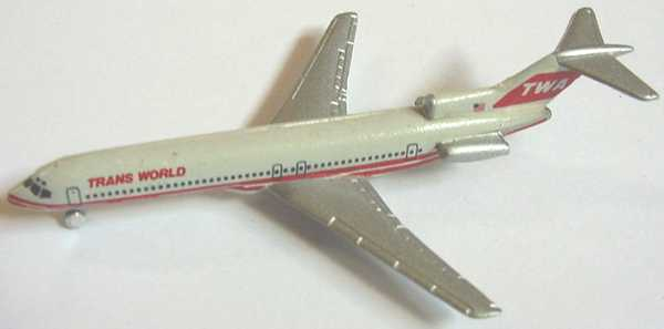 Foto 1:600 Boeing B 727 TWA Schabak