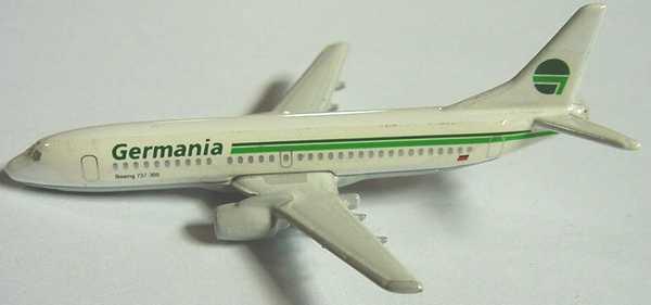 Foto 1:400 Boeing B 737 Germania Schabak