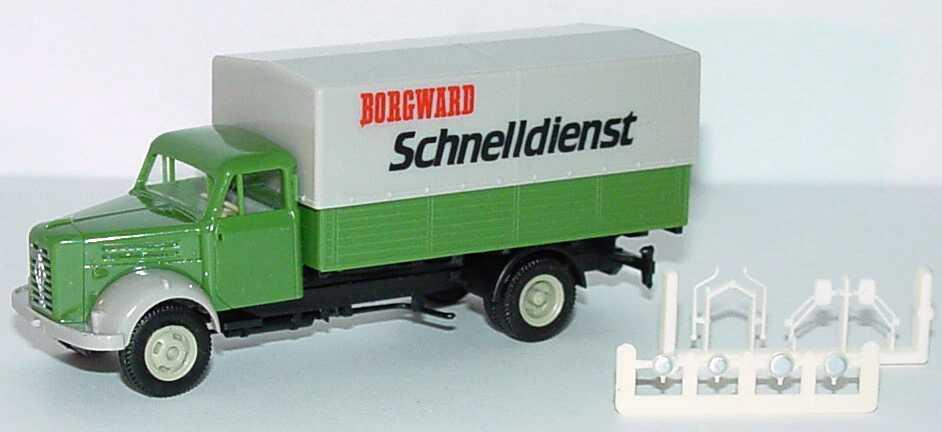 Foto 1:87 Borgward B4500 2a PP-Lkw Borgward Schnelldienst Albedo