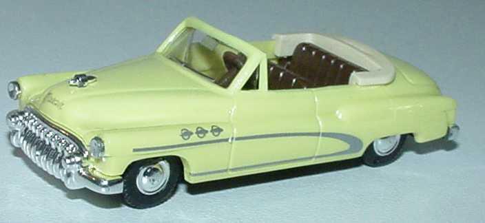 Foto 1:87 Buick Super 1950 Cabrio hellgelb - Praliné 84702