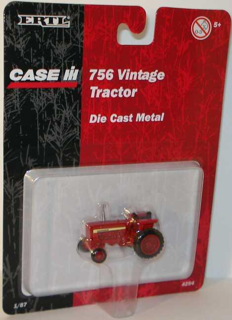 Foto 1:87 Case 756 Tractor Ertl 4254