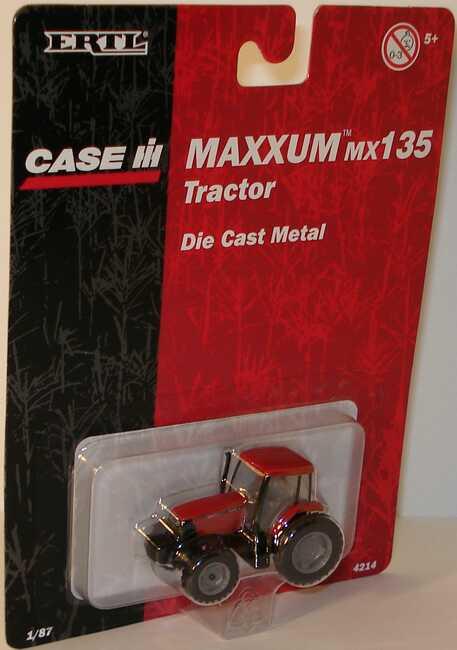 Foto 1:87 Case Maxximum MX135 Tractor Ertl 4214