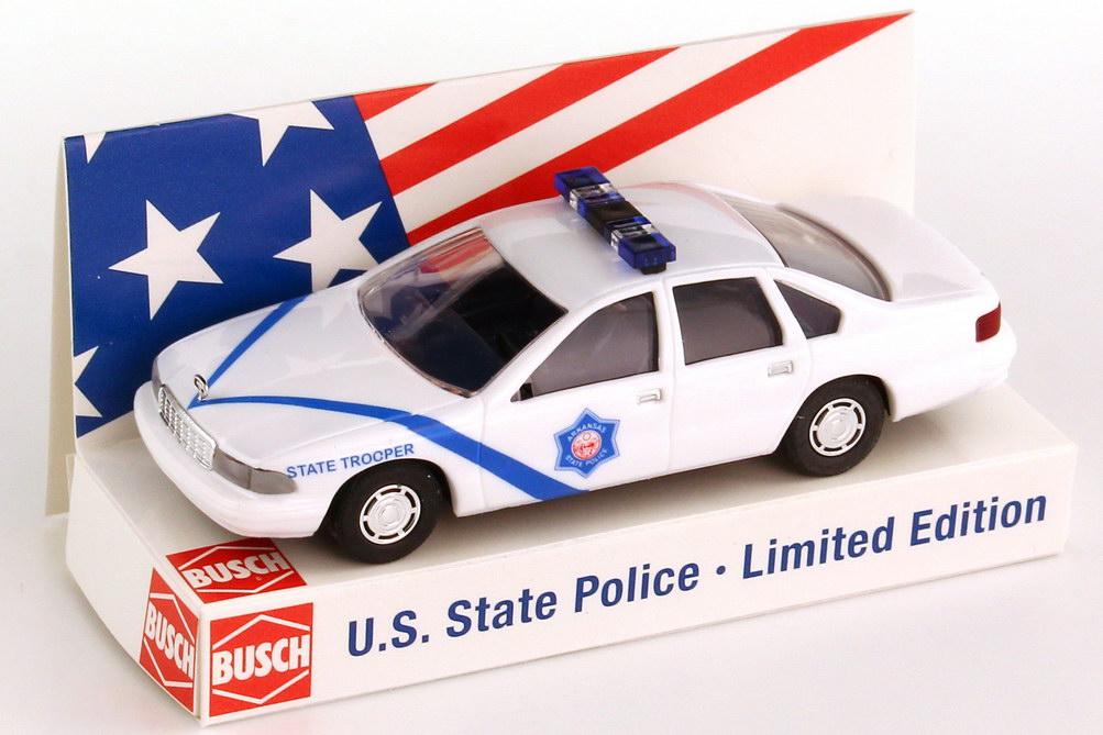 Foto 1:87 Chevrolet Caprice ´95 Arkansas - State Trooper Busch 47685