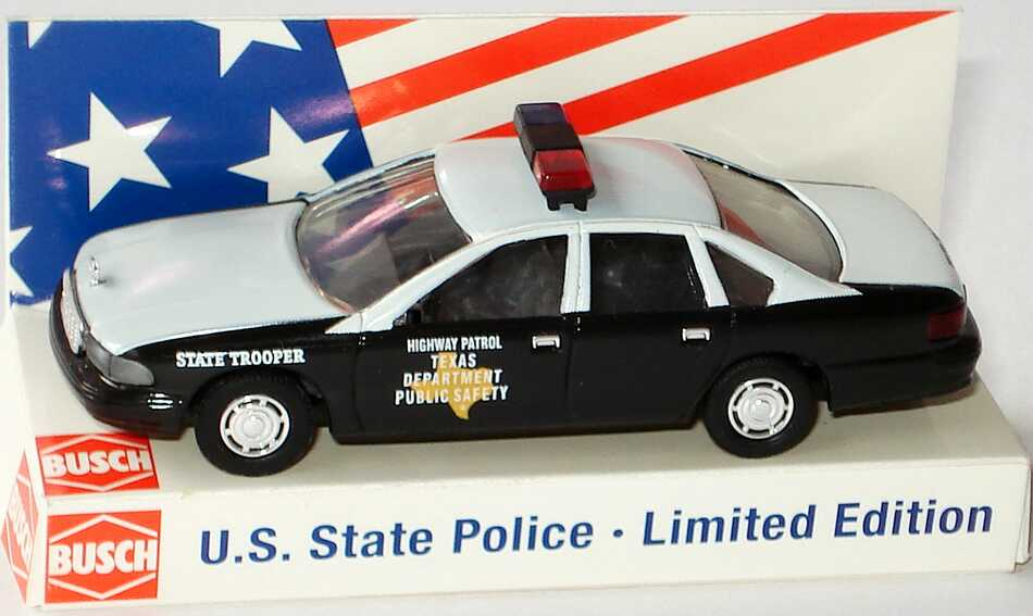 Foto 1:87 Chevrolet Caprice ´95 Texas Highway Patrol - State Trooper Busch 47673