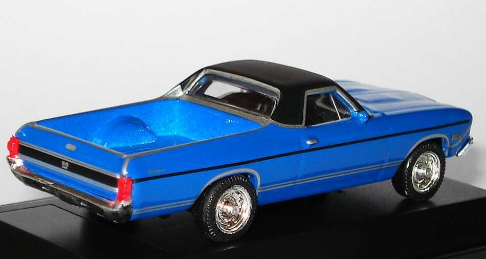 Foto 1:87 Chevrolet El Camino 1968 blau Model Power 19492