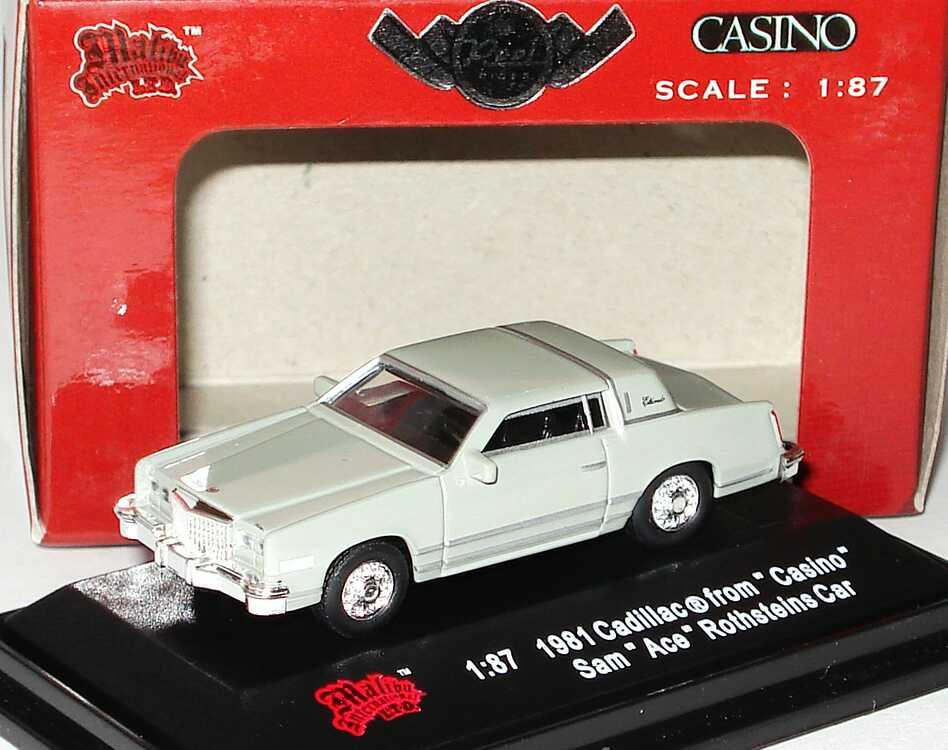Foto 1:87 Chevrolet Eldorado (1981) grau (Reel Rides, Movie: Casino (Sam Ace Rothensteins Car)) Malibu International 09209
