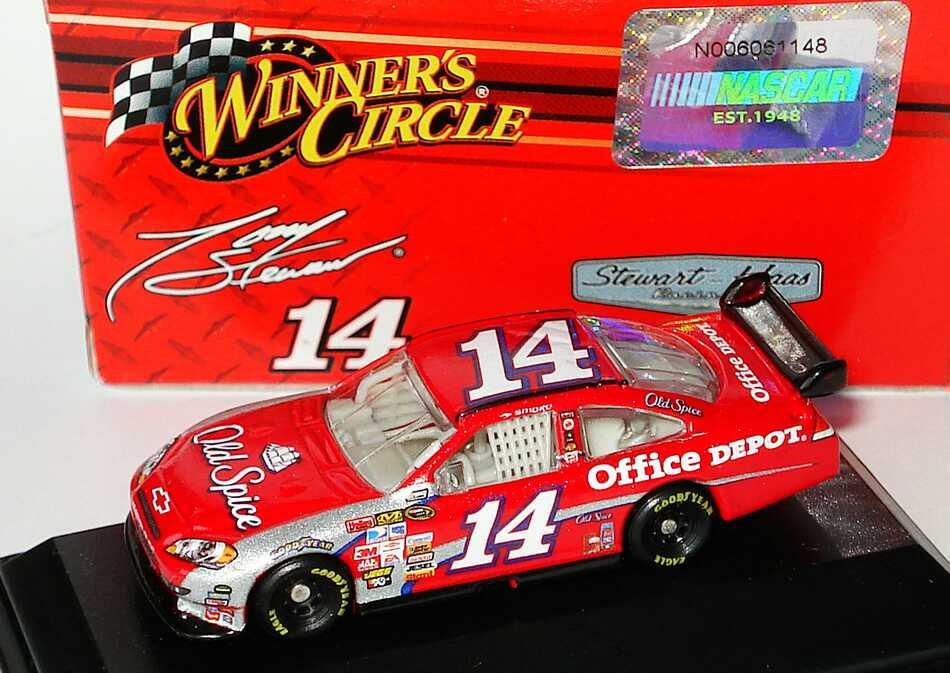 Foto 1:87 Chevrolet Impala SS NASCAR 2009 Stewart-Haas Racing, Old Spice, Office Depot Nr.14, Tony Stewart Winners Circle 06614