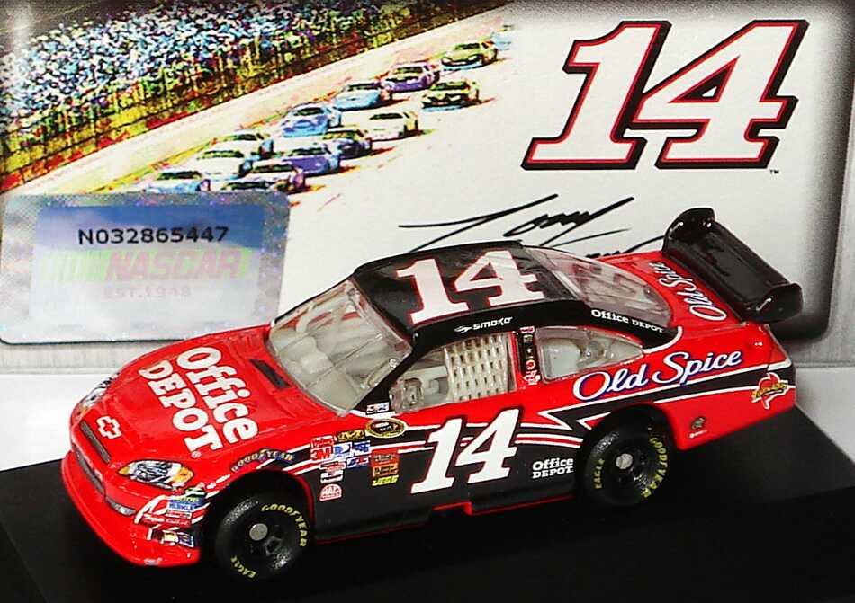 Foto 1:87 Chevrolet Impala SS NASCAR 2010 Stewart-Haas Racing, Old Spice, Office Depot Nr.14, Tony Stewart Winners Circle 09731