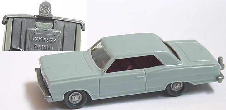 Foto 1:87 Chevrolet Malibu blaugrau (Mängel) Wiking