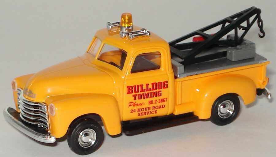 Foto 1:87 Chevrolet Pickup (1950) Abschleppwagen Bulldog Towing Busch 48209