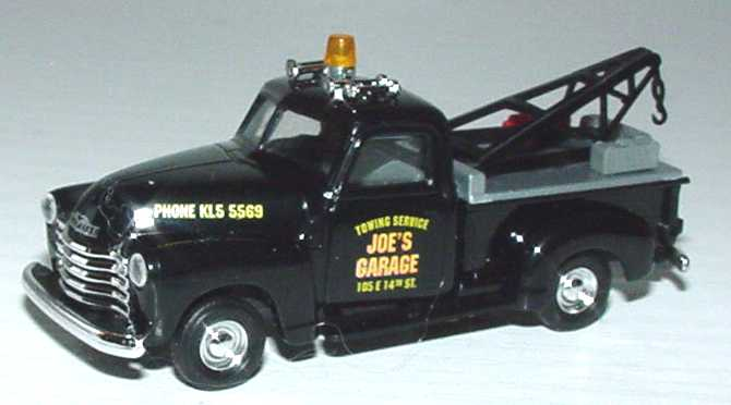 Foto 1:87 Chevrolet Pickup (1950) Abschleppwagen Joe´s Garage Busch 48204