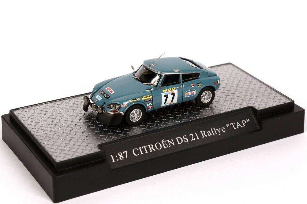 Foto 1:87 Citroen DS 21 TAP Rallye de Portugal 1972 Nr.77, Romaozinho / Bernardo Makette CollecCit 8007