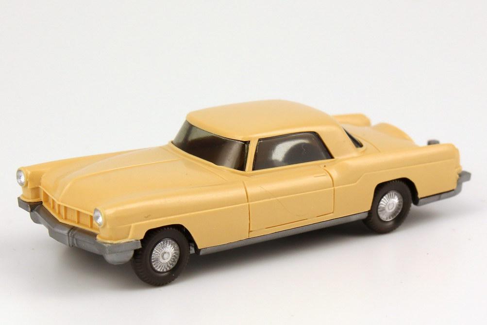 Foto 1:87 Continental Mark II 1956 hell-beige, ohne Inneneinrichtung Wiking 210