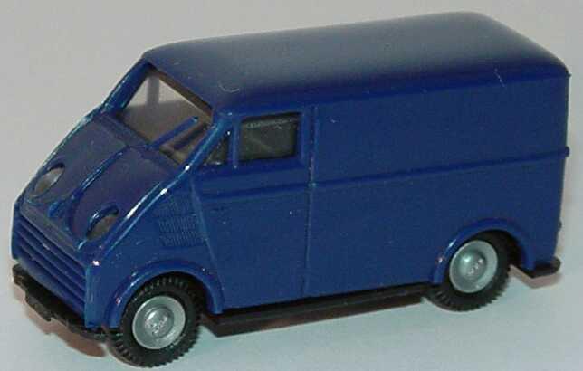 Foto 1:87 DKW 3=6 Kasten dunkelblau Praliné