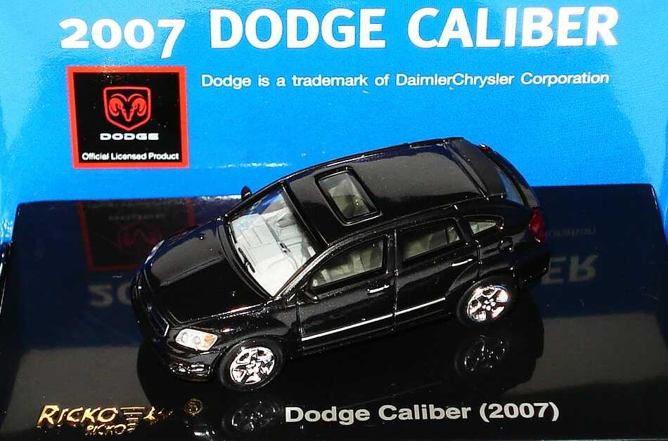 Foto 1:87 Dodge Caliber (2007) schwarz-met. Ricko 38669