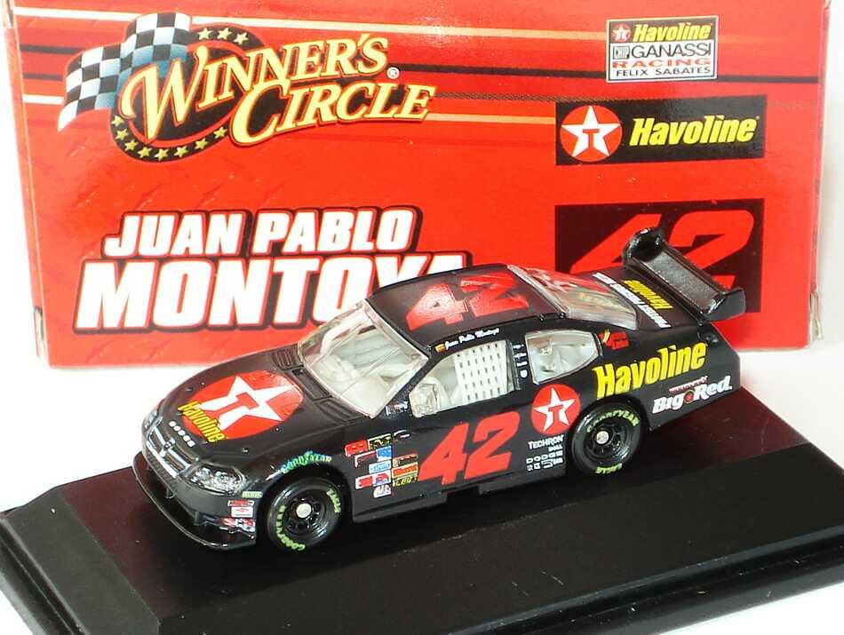 Foto 1:87 Dodge Charger NASCAR 2008 Chip Ganassi Racing, Havoline Nr.42, Juan Pablo Montoya Winners Circle 70535
