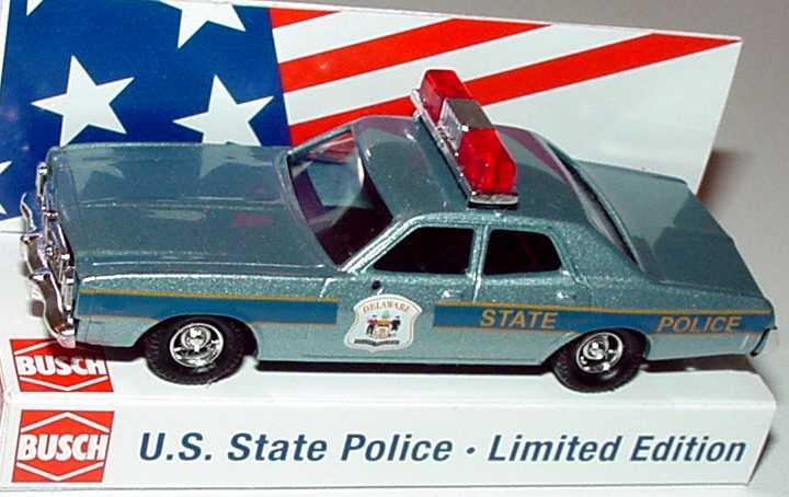 Foto 1:87 Dodge Monaco Delaware State Police Busch 46673