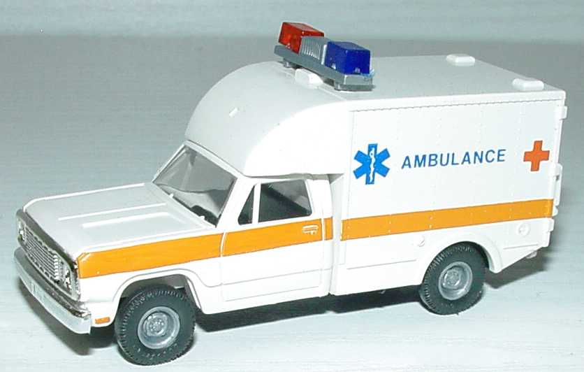 Foto 1:87 Dodge Rettungswagen 1977 Ambulance Roco 1352