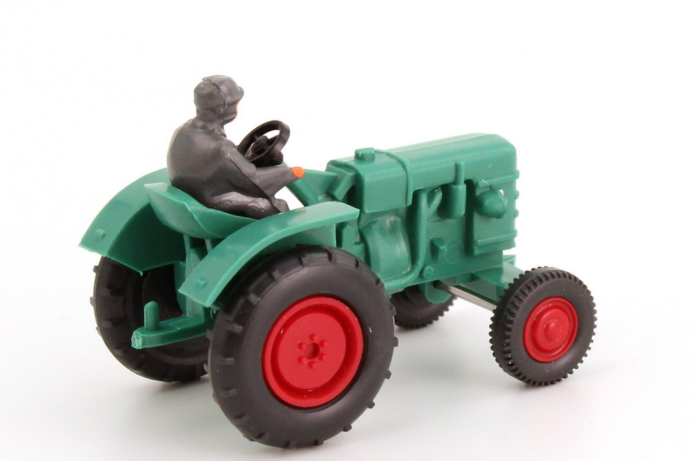 Foto 1:87 Fahr Schlepper D 180 H Traktor türkisgrün Wiking 87701