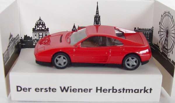 Foto 1:87 Ferrari 348tb rot Wiener Herbstmarkt herpa 180184