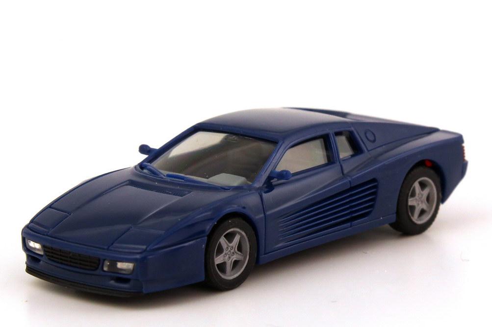 Foto 1:87 Ferrari 512 TR dunkelblau herpa 025454